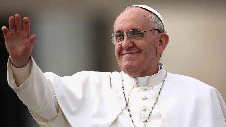 El papa Francisco abre su fundación en Vaca Muerta