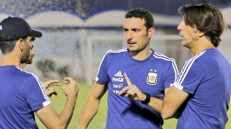 Scaloni cerrará su ciclo como entrenador interino de la Selección.