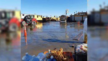 el dano ambiental por el derrame en el pozo de bandurrias afecto varias hectareas