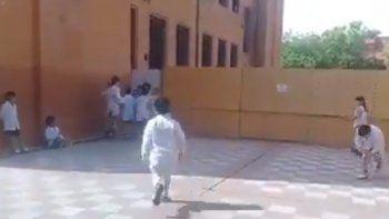 polemica por la celebracion del dia de la lealtad en una escuela