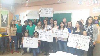 docentes denuncian que no cobran zona por un error administrativo