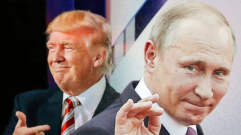 Donald Trump y Vladimir Putin se reunirían en París