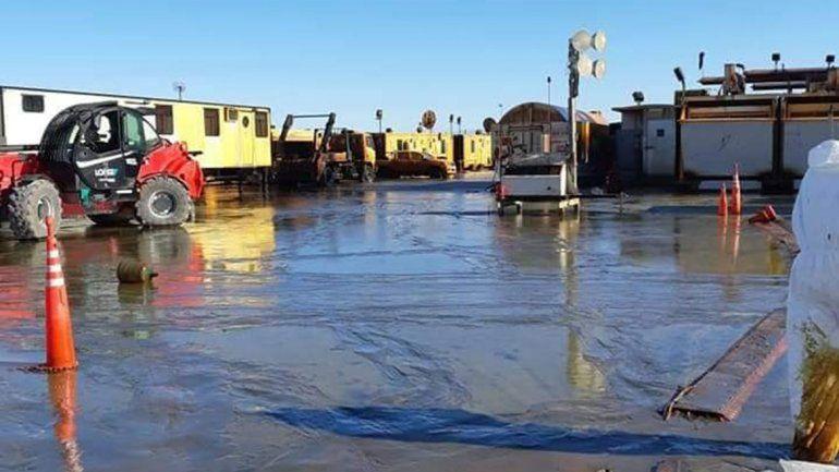 YPF presentó a Provincia el plan de remediación por el derrame de Bandurria