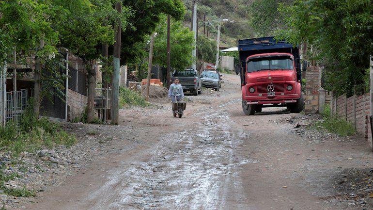 Tras la tormenta, nunca más pasó Cliba en un barrio