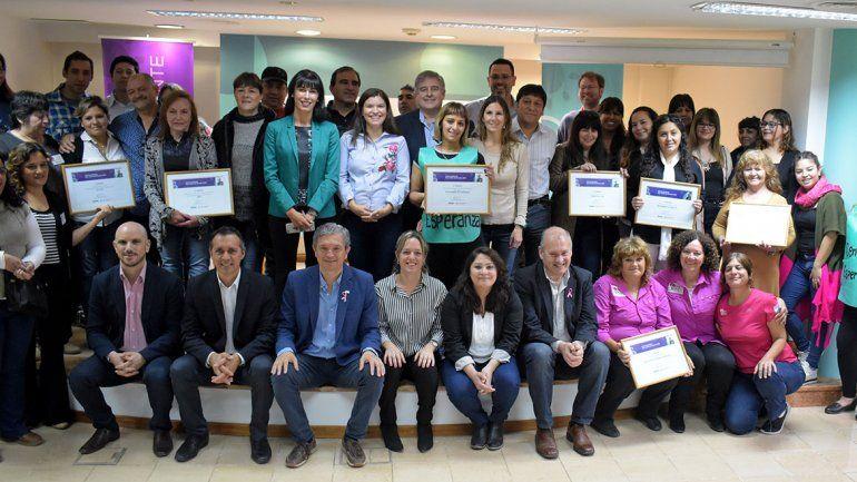 Concejales entregaron los premios Jaime de Nevares