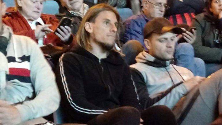 Beccacece estuvo viendo a San Lorenzo el lunes a la noche.