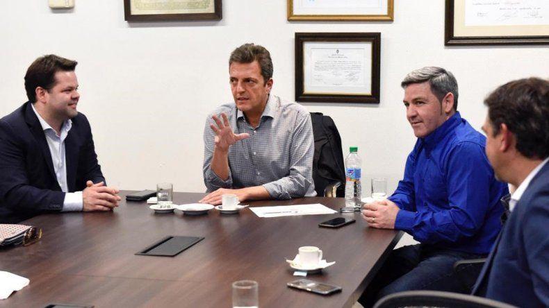 Massa recibió a diputados patagónicos