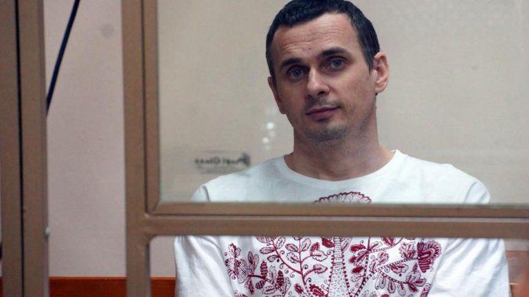 Premiaron a un cineasta ucraniano detenido en Rusia
