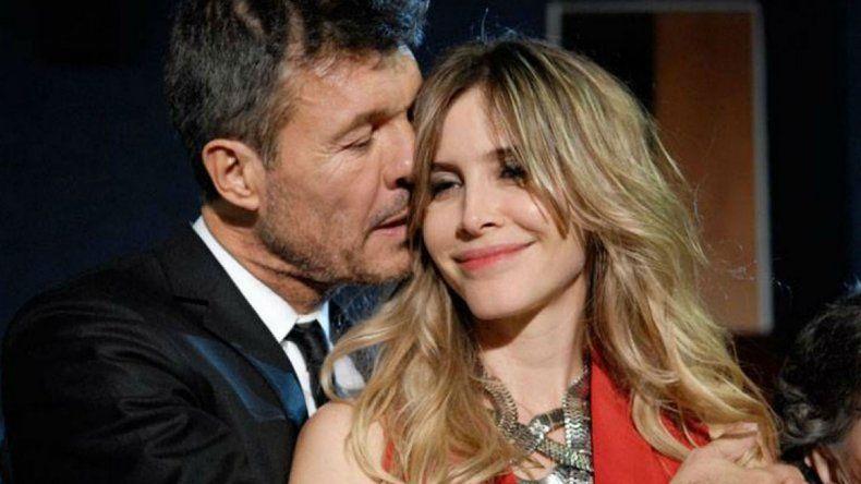 Tinelli reveló que está separado de Guillermina Valdés