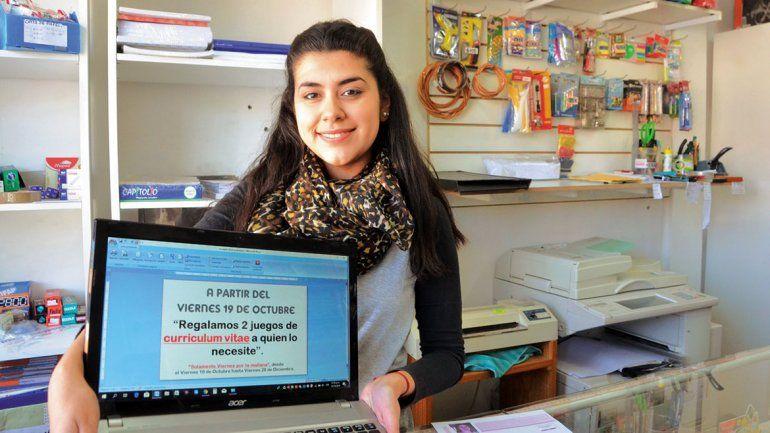 Imprimen gratis currículums para los desocupados