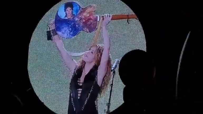 El homenaje de Shakira a Gustavo Cerati en su show de Vélez