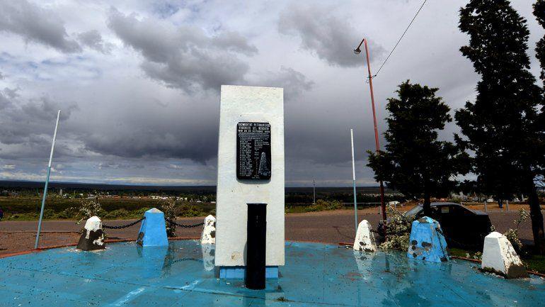 <div>El monumento al pozo 1. El lugar donde todo comenzó: un monumento recuerda al Pozo Patria.</div>