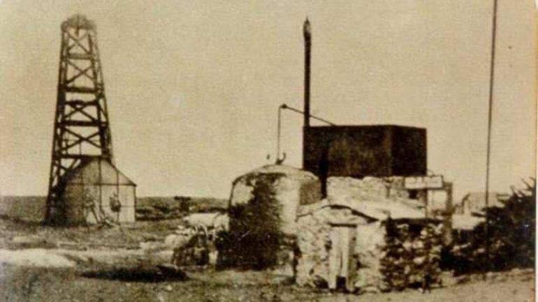 Historia en imagen. El Pozo Patria y la pequeña destilería. Todo comenzó allí.