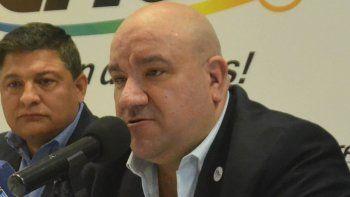 Darío Lucca, secretario general de la cooperativa CALF.