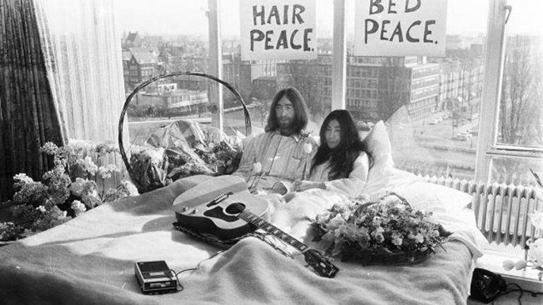 Un film recreará el romance entre Lennon y Yoko Ono