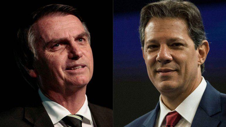 Brasil elige entre Bolsonaro y Haddad quién será presidente