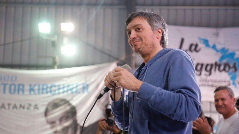 Máximo K criticó a Macri en un acto en honor a su papá