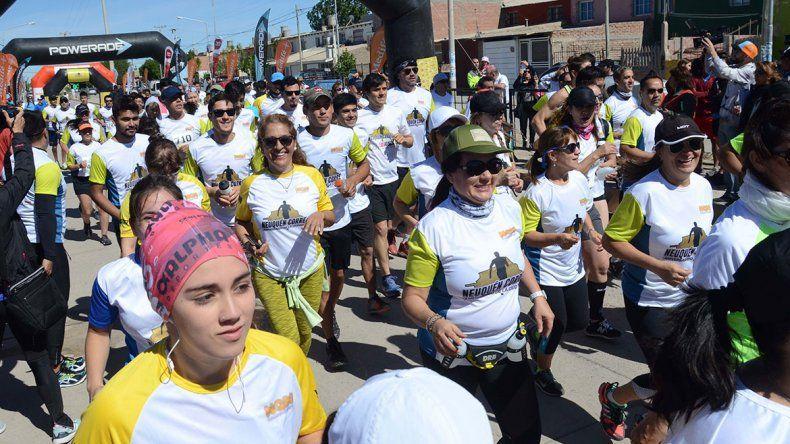Con 700 anotados, Neuquén Corre hoy por la barda