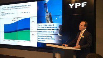 YPF avanza en una nueva campaña exploratoria