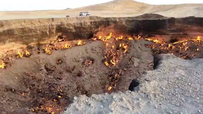 Viralizan un impactante video trucho de un meteorito en Tinogasta
