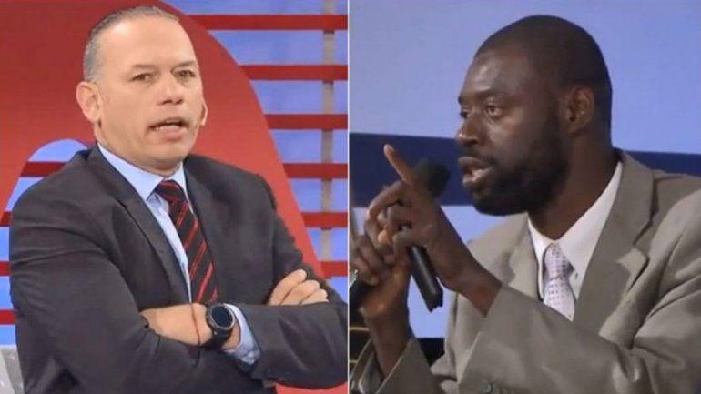 Fuerte cruce entre Berni y un abogado haitiano
