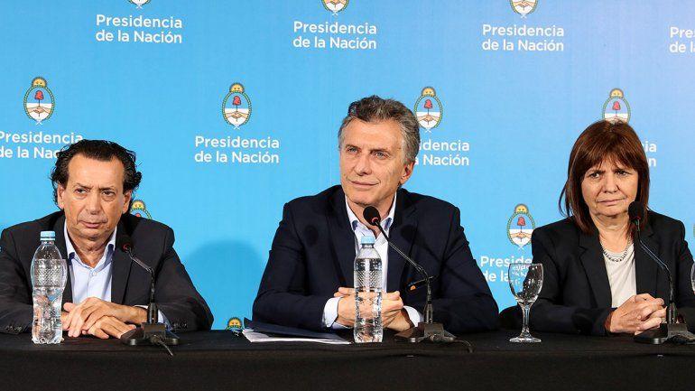 Macri: Hay que debatir el manejo migratorio