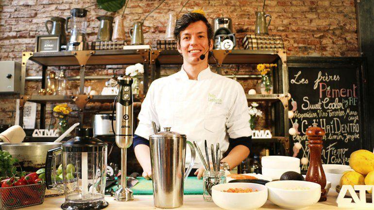 Pedro Lambertini viene a cocinar a Bodega Schroeder