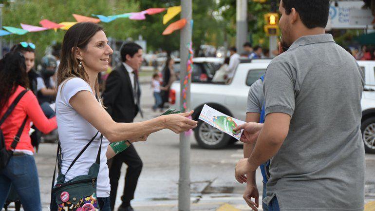 <p>Cecilia Maletti, concejala de Libres del Sur e integrante de Mumalá.</p>