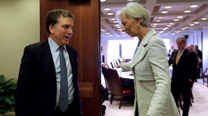 El FMI manda a su equipo para revisar el plan acordado