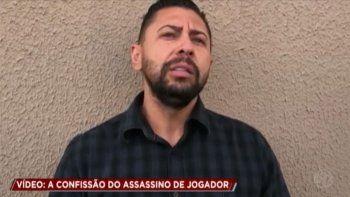 empresario confeso en television el crimen del futbolista brasileno