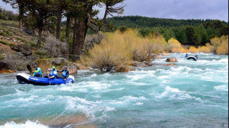 El Mundial de Rafting arranca hoy en Neuquén
