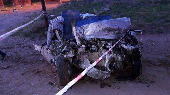 Un muerto y cuatro heridos dejó un brutal accidente