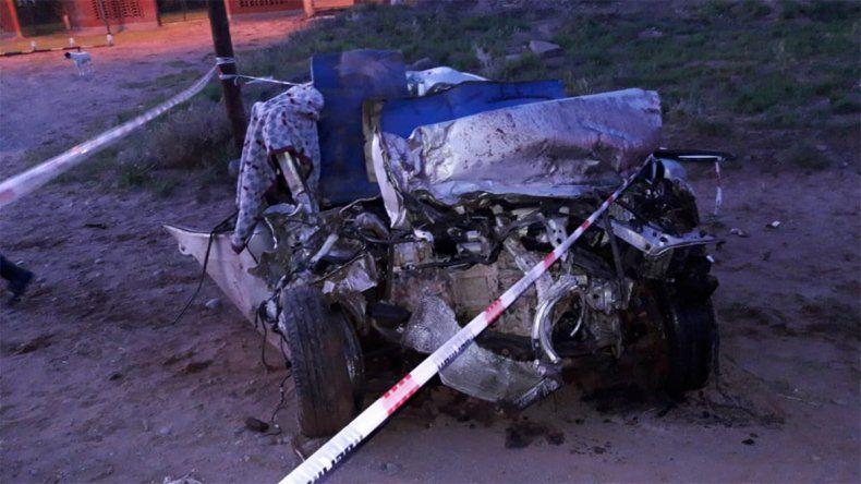 Un hombre murió en un brutal accidente y otras cuatro personas resultaron heridas