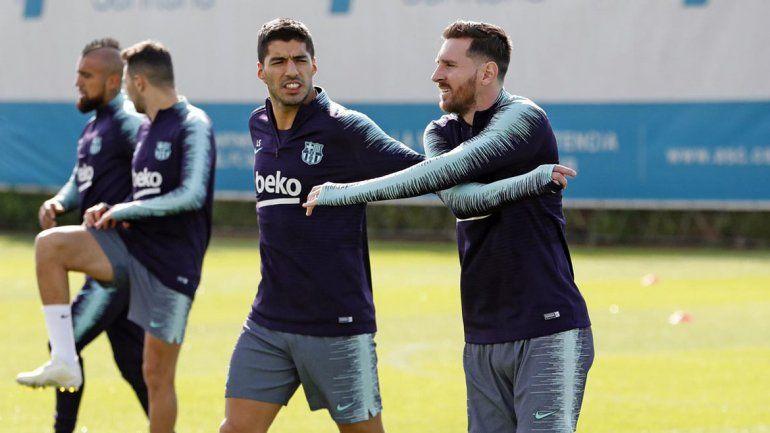 Messi no tiene el alta médica pero podría jugar por Champions