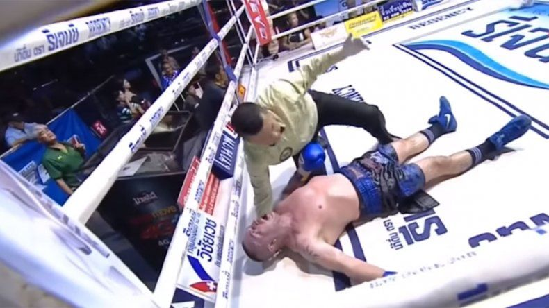 Luchador leyenda de Muay Thai murió tras un dramático nocaut