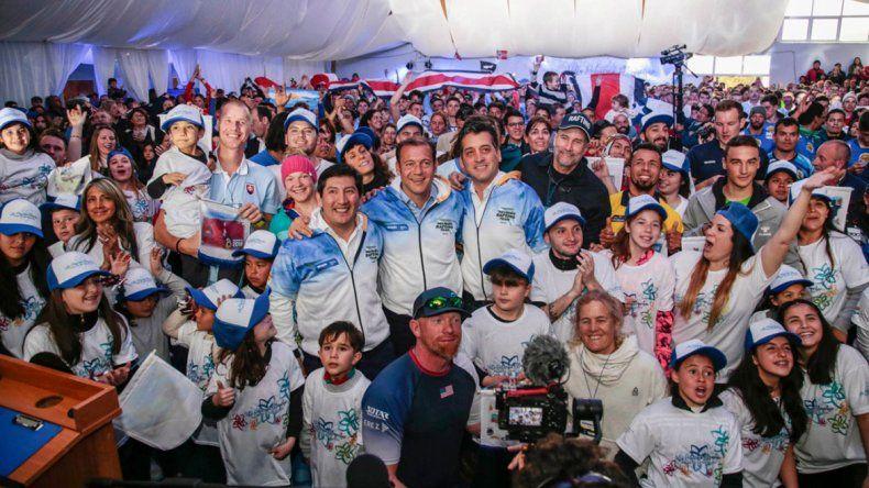 El Mundial de Rafting vistió de fiesta a Pehuenia
