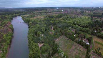 protegeran unas 50 hectareas en la costa del neuquen