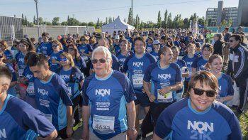 una multitud de corredores copo la prueba nqn21