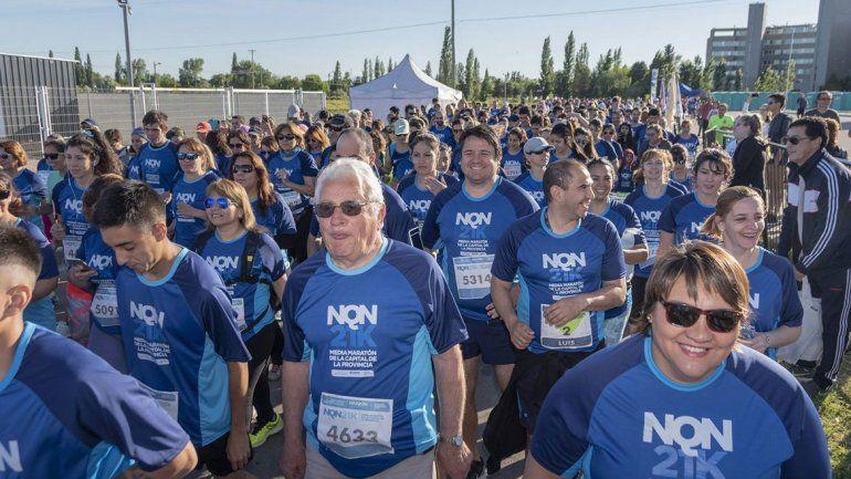 Una multitud de corredores copó la prueba NQN21
