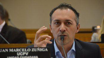 zuniga cuestiono el presupuesto municipal presentado por artaza