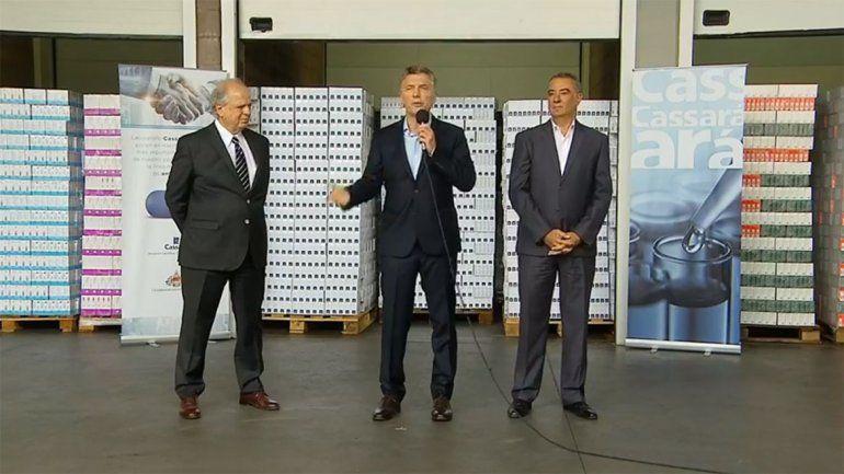 Macri promete una baja en los medicamentos para los jubilados