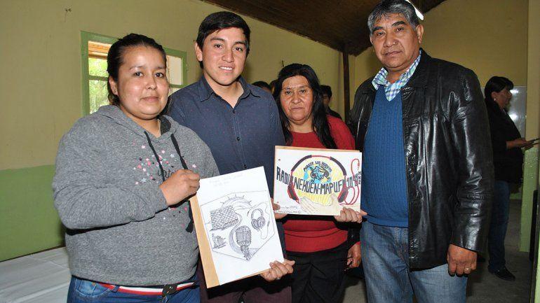 Bautizan a la radio de un paraje con nombre mapuche