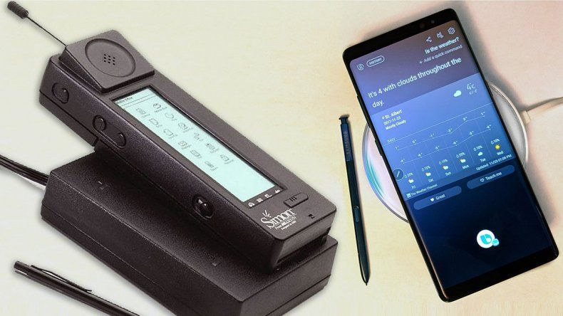 A 25 años de presentarse el primer smartphone