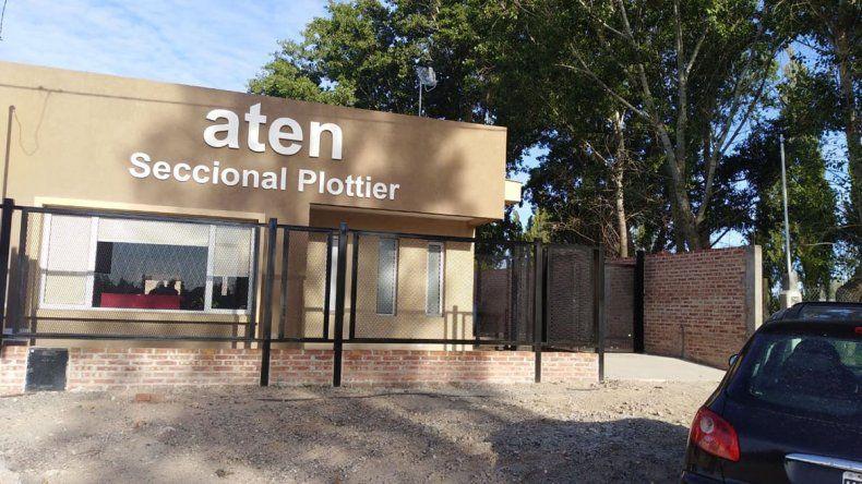 Robaron el local de ATEN Plottier y apuntan a los detractores de la ESI
