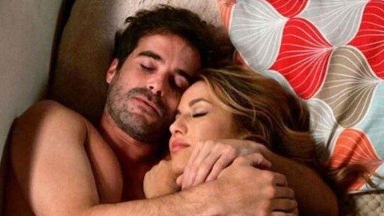 La foto del escándalo entre Vigna y Laurita Fernández