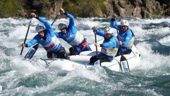 comenzaron las primeras competencias del mundial de rafting