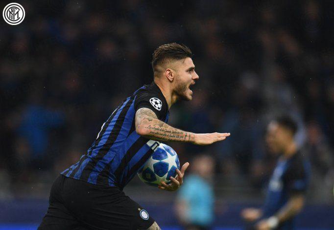 De la mano de Icardi, Inter empató ante Barcelona