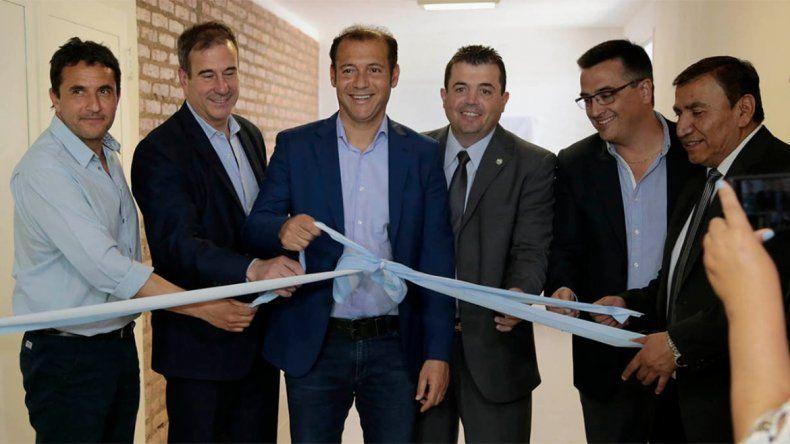 Gutiérrez inauguró la ampliación del hospital de la comarca petrolera