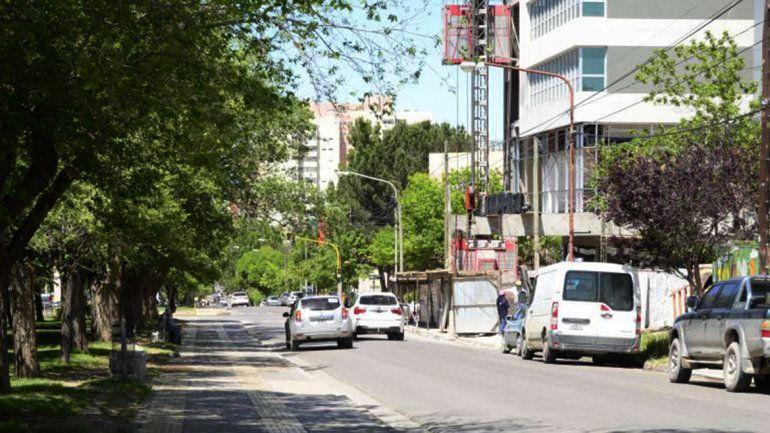 Por una obra particular cortan el tránsito en Avenida Argentina y Doctor Ramón
