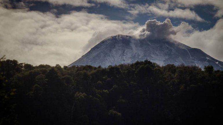 Hubo una explosión en el volcán Nevados del Chillán